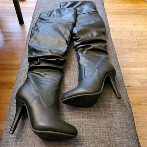 Forever Link Women's Over The Knee Fashion Boots
